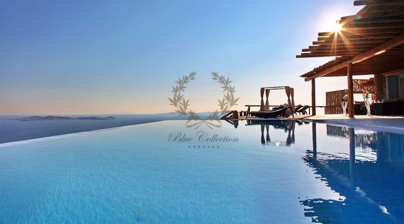 Mykonos - Fanari  Presidential Villa with Private Pool & Amazing view for rent  p1