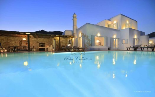 Mykonos | Lia – Presidential Private Villa with infinity Pool & Stunning views for rent | Sleeps 10 | 5 Bedrooms |5 Bathrooms| REF: 180412107 | CODE: LXN-1