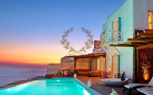 Mykonos | Fanari – Presidential Villa with Private Pool & Amazing view for rent | Sleeps 13 | 6 Bedrooms |6 Bathrooms| REF: 18041235 | CODE: Z2
