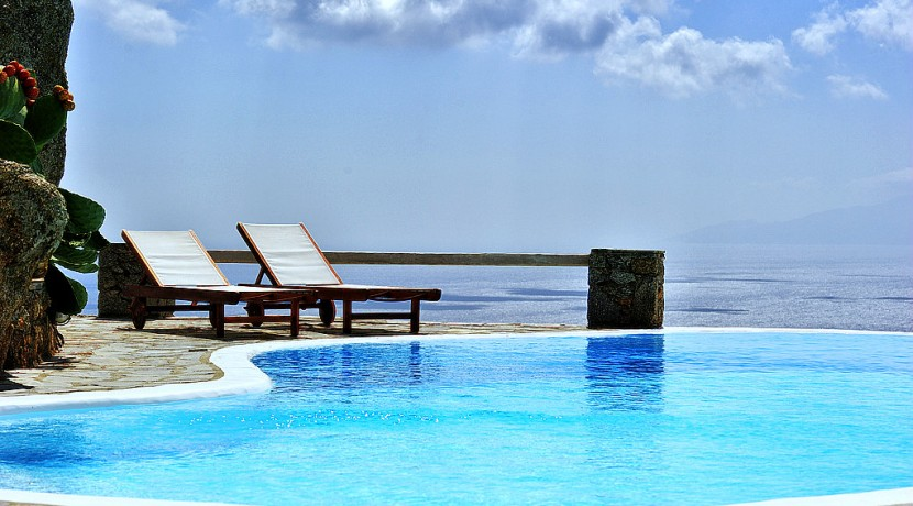 Mykonos  Chalara – Private Villa with Infinity Pool & Amazing view for rent (4)