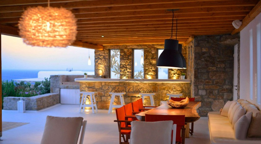 Mykonos  ELIA – Delux Villa with Private Pool & Amazing view for Rent (35)