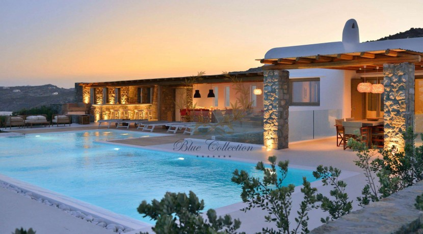 Mykonos  ELIA – Delux Villa with Private Pool & Amazing view for Rent (39)