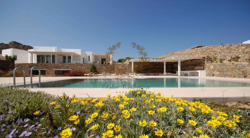 Mykonos Elia – Presidential Villa with Private Pool & Stunning views for rent (5)