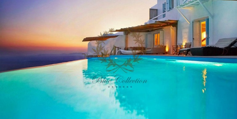 Mykonos  Fanari – Presidential Villa with Private Pool & Amazing view for rent (2)