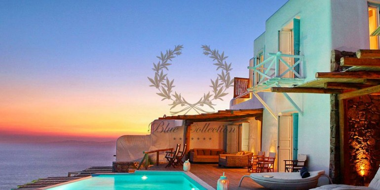 Mykonos  Fanari – Presidential Villa with Private Pool & Amazing view for rent (3)