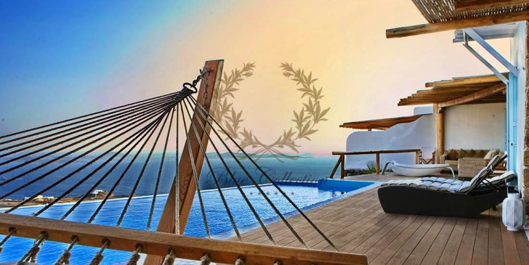Mykonos  Fanari – Presidential Villa with Private Pool & Amazing view for rent (4)