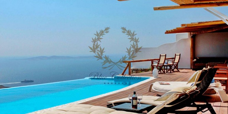 Mykonos  Fanari – Presidential Villa with Private Pool & Amazing view for rent (6)