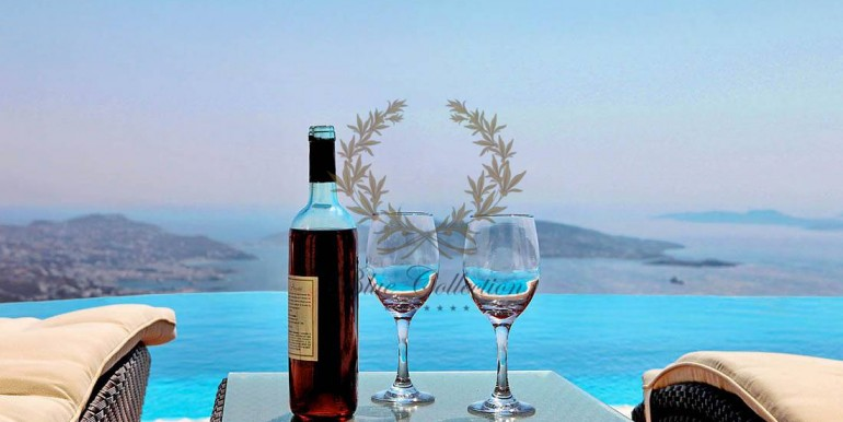 Mykonos  Fanari – Presidential Villa with Private Pool & Amazing view for rent (8)