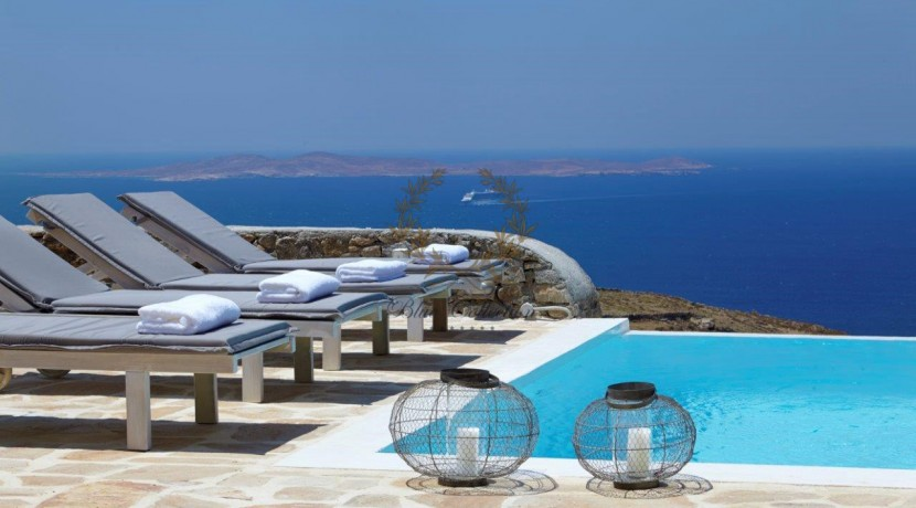 Mykonos  Superior Villa with Private Pool & Amazing view for rent (5)