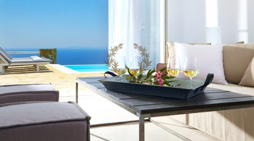 Mykonos  Superior Villa with Private Pool & Amazing view for rent (9)