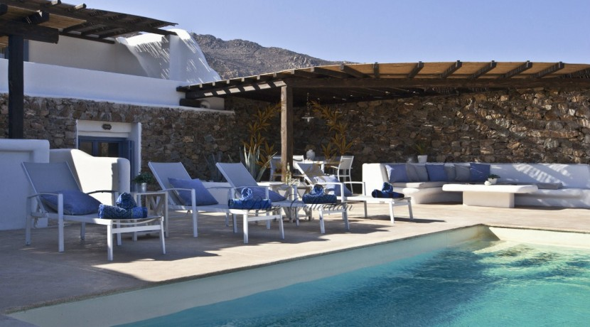 Mykonos - Panormos  Senior Villa with Private Pool & Sea View for Rent 1 (11)