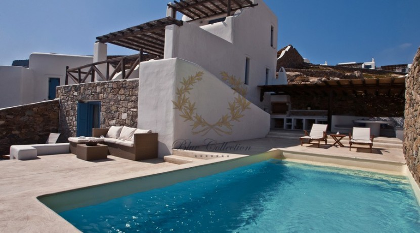 Mykonos - Panormos  Senior Villa with Private Pool & Sea View for Rent 1 (3)