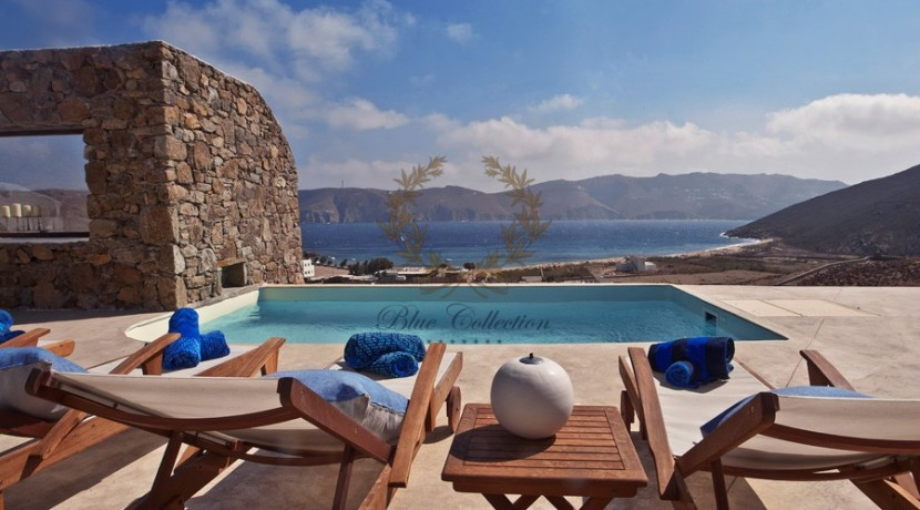 Mykonos - Panormos  Senior Villa with Private Pool & Sea View for Rent 1