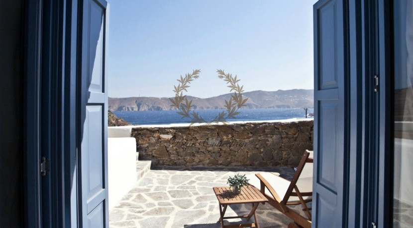 Mykonos - Panormos  Senior Villa with Private Pool & Sea View for Rent 1 (9)