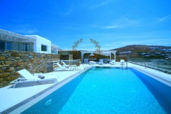 Mykonos – Greece | Elia – Private Villa with Pool & Sea view for rent | Sleeps 6+3 | 3+1 Bedrooms |3 Bathrooms| REF:  180412122 | CODE: ELO-1