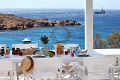 Mykonos – Greece , Aleomandra | Deluxe Villa with Private Beach & Stunning views for Rent |Sleeps 6 | 3 Bedrooms , 3 Bathrooms/ REF:  18041271 , CODE: CDM-3