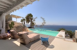 Mykonos – Greece | Agios Ioannis – Private Villa with Pool & Stunning view for rent | Sleeps 8 | 4 Bedrooms |5 Bathrooms| REF:  180412124 | CODE: AGD-1