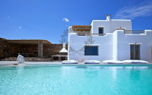 Mykonos - Greece | Kalafatis – Luxury Villa with Private Pool for rent | Sleeps 8+1 | 4+1 Bedrooms |4 Bathrooms| REF: 18041228 | CODE: P-1