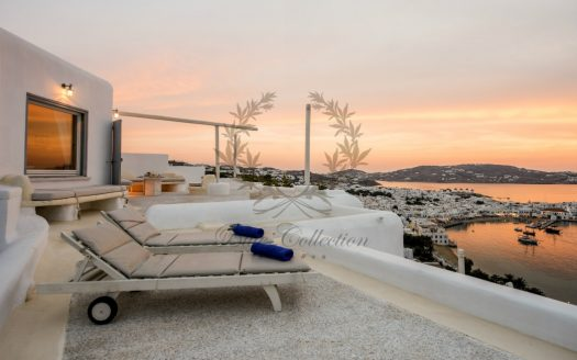 Mykonos - Greece | Exclusive Villa with Private Spa Pool & Breathtaking views for rent | Sleeps 8 | 4 Bedrooms | 5 Bathrooms | REF : 18041294 | Code : VPR