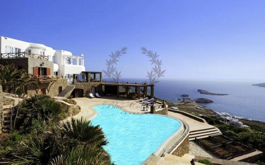 Mykonos - Greece | Agios Sostis – Private Villa with Private Pool & Amazing view for rent | Sleeps 14 | 7 Bedrooms |7 Bathrooms| REF: 180412131 | CODE: AGS1