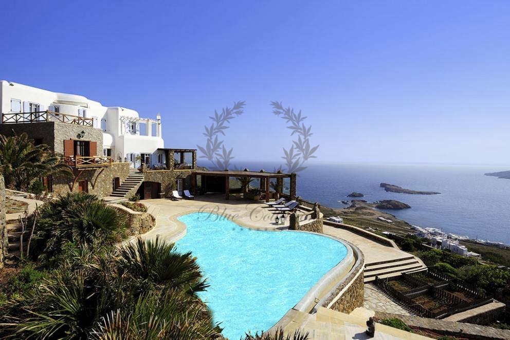 Mykonos Greece Private Villa With Private Pool For Rent