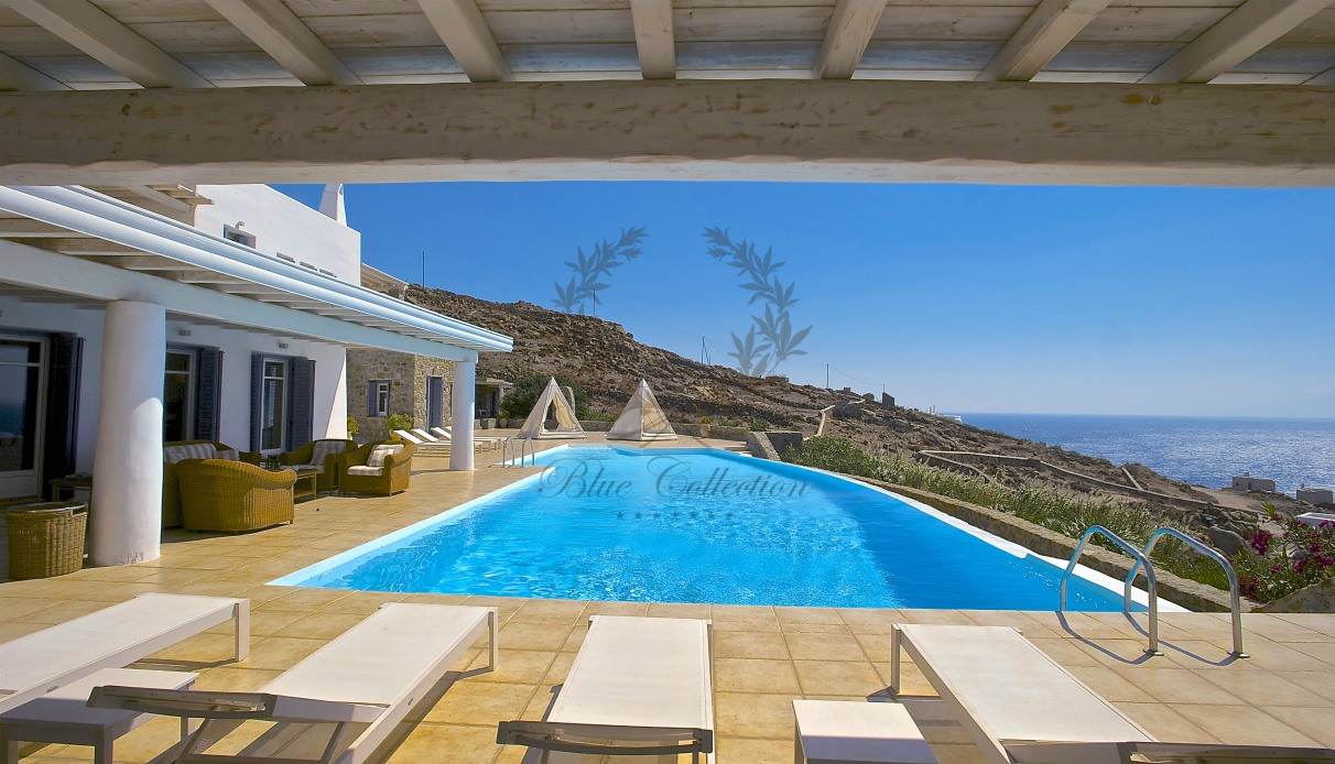 Mykonos Greece Private Villa With Pool For Rent