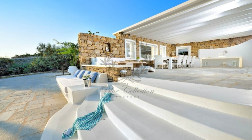 Mykonos - Greece  Lino – Cozy Villa with Shared Pool & Sea view for rent  CODE LIR1 (10)