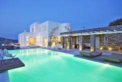 Presidential Villa in Mykonos – Greece for Rent | Aleomandra |Private Pool |Sunset view | Sleeps 10 | 5+1 Bedrooms |5 Bathrooms| REF:  180412133 | CODE: ALS-1
