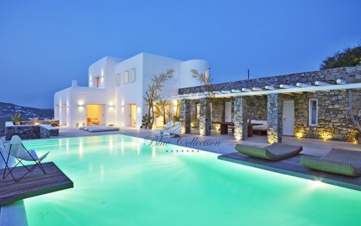 Presidential Villa in Mykonos - Greece for Rent | Aleomandra |Private Pool |Sunset view | Sleeps 10 | 5+1 Bedrooms |5 Bathrooms| REF: 180412133 | CODE: ALS-1