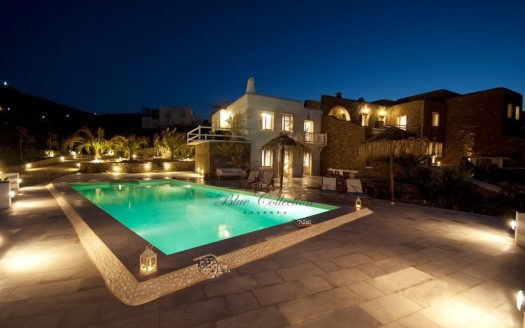 Villa in Mykonos - Greece for rent | Ftelia | Private Pool & sea view | Sleeps 9 | 4 Bedrooms |4 Bathrooms |REF: 180412118 | CODE: FTL-1