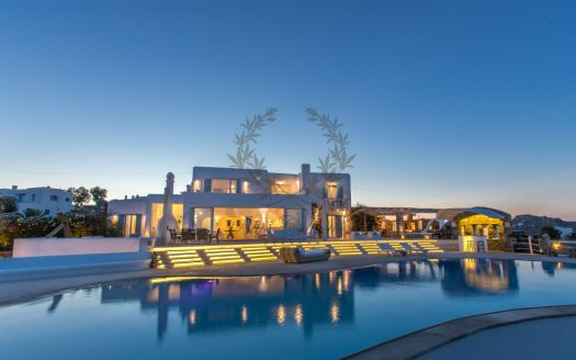 VIP Villa for Rent in Mykonos – Greece | Kalafatis | Private Pool | Sea view | Sleeps 30 | 13 Bedrooms |14 Bathrooms| REF: 180412137 | CODE: KFA-1
