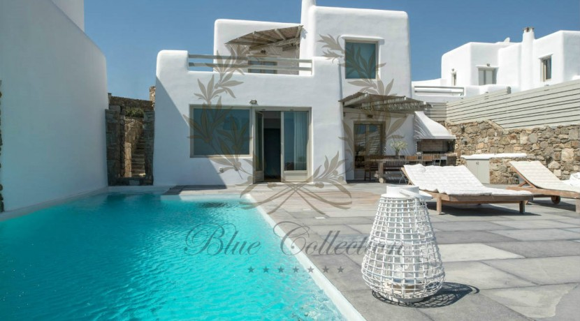 Mykonos - Greece  Kalafatis – Luxury Villa with Private Pool for rent CODE P-3