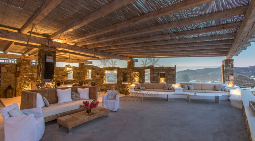 VIP Villa for Rent in Mykonos – Greece  Kalafatis  Private Pool  Sea view  CODE KFA-1 www.bluecollection.gr (10)