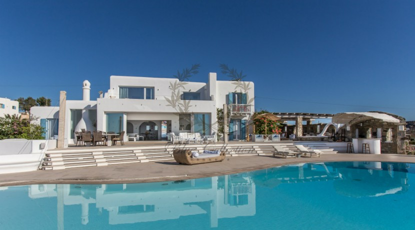 VIP Villa for Rent in Mykonos – Greece  Kalafatis  Private Pool  Sea view  CODE KFA-1 www.bluecollection.gr (13)