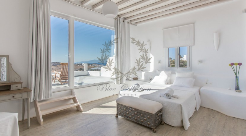 VIP Villa for Rent in Mykonos – Greece  Kalafatis  Private Pool  Sea view  CODE KFA-1 www.bluecollection.gr (19)
