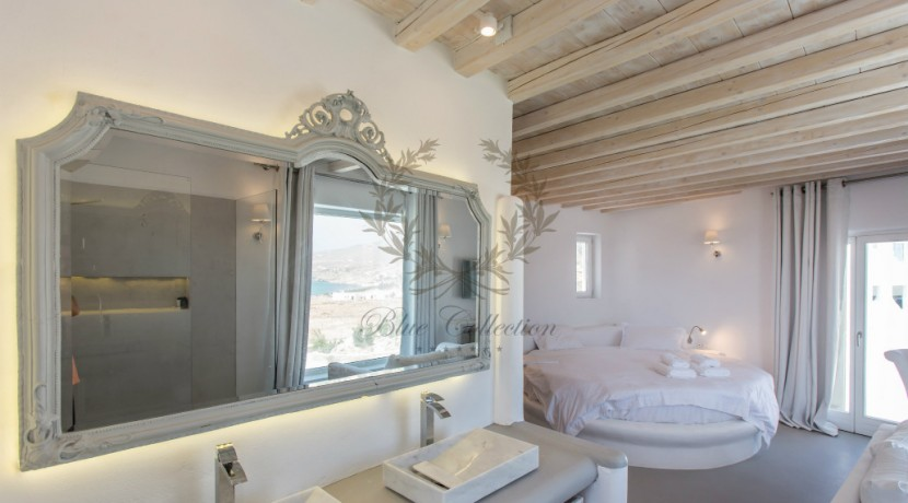 VIP Villa for Rent in Mykonos – Greece  Kalafatis  Private Pool  Sea view  CODE KFA-1 www.bluecollection.gr (28)