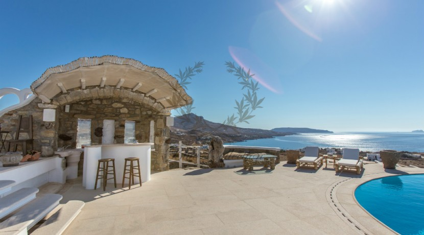 VIP Villa for Rent in Mykonos – Greece  Kalafatis  Private Pool  Sea view  CODE KFA-1 www.bluecollection.gr (32)