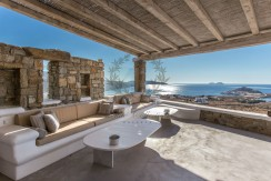 VIP Villa for Rent in Mykonos – Greece  Kalafatis  Private Pool  Sea view  CODE KFA-1 www.bluecollection.gr (34)