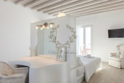 VIP Villa for Rent in Mykonos – Greece  Kalafatis  Private Pool  Sea view  CODE KFA-1 www.bluecollection.gr (35)