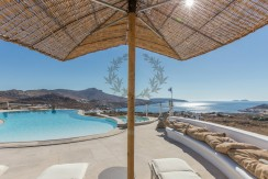 VIP Villa for Rent in Mykonos – Greece  Kalafatis  Private Pool  Sea view  CODE KFA-1 www.bluecollection.gr (36)