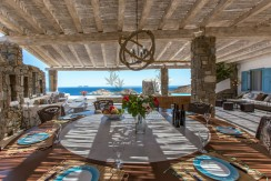 VIP Villa for Rent in Mykonos – Greece  Kalafatis  Private Pool  Sea view  CODE KFA-1 www.bluecollection.gr (39)