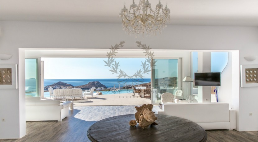 VIP Villa for Rent in Mykonos – Greece  Kalafatis  Private Pool  Sea view  CODE KFA-1 www.bluecollection.gr (40)