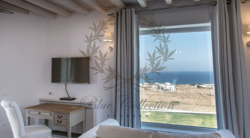 VIP Villa for Rent in Mykonos – Greece  Kalafatis  Private Pool  Sea view  CODE KFA-1 www.bluecollection.gr (41)