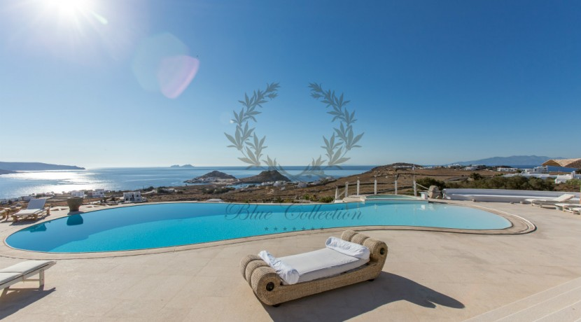 VIP Villa for Rent in Mykonos – Greece  Kalafatis  Private Pool  Sea view  CODE KFA-1 www.bluecollection.gr (42)