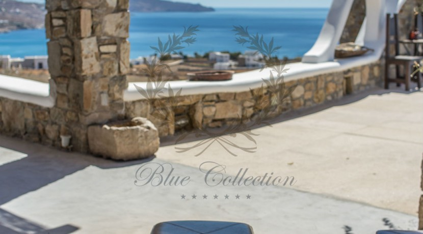VIP Villa for Rent in Mykonos – Greece  Kalafatis  Private Pool  Sea view  CODE KFA-1 www.bluecollection.gr (6)