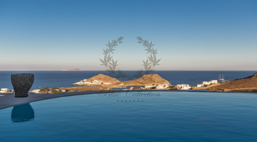 VIP Villa for Rent in Mykonos – Greece  Kalafatis  Private Pool  Sea view  CODE KFA-1 www.bluecollection.gr (7)
