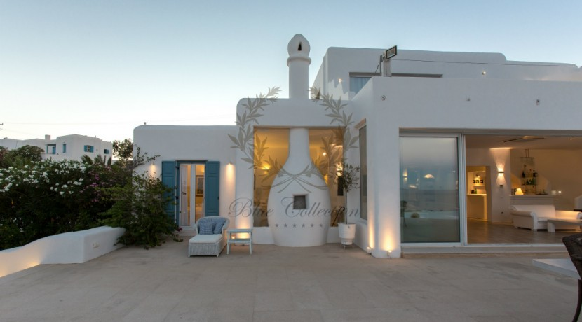 VIP Villa for Rent in Mykonos – Greece  Kalafatis  Private Pool  Sea view  CODE KFA-1 www.bluecollection.gr (8)
