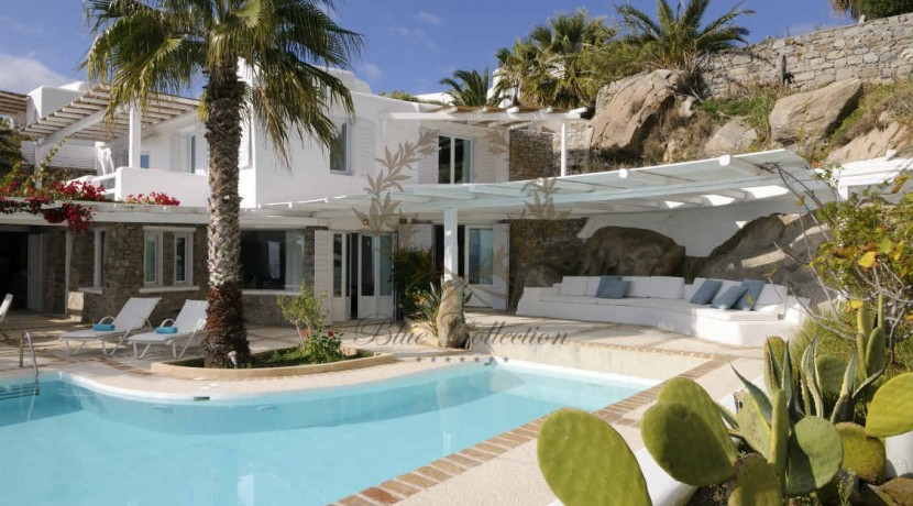 Private Villa for Rent in Mykonos – Greece Aleomandra -  Private Pool - Stunning views - CODE MAL-4 www.bluecollection.gr (19)