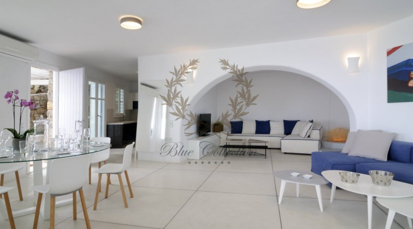 Private Villa for Rent in Mykonos – Greece Aleomandra -  Private Pool - Stunning views - CODE MAL-4 www.bluecollection.gr (5)