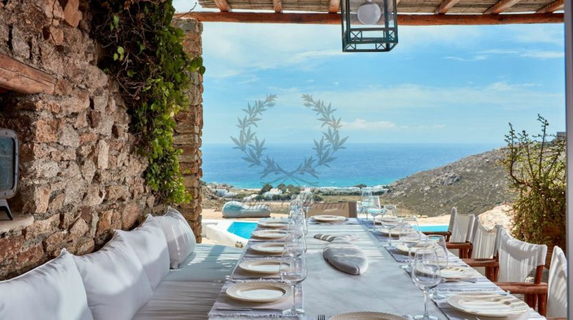 Mykonos, Agrari – Absolute Private Villa with Infinity Pool & Stunning view for rent 1 (4)